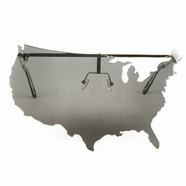 Jeremy Scott x Linda Farrow - Map of USA Sunglasses