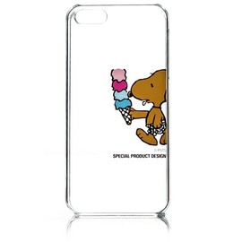 SURF'S UP PEANUTS - iPhone5 CLEAR CASE / ICECREAM