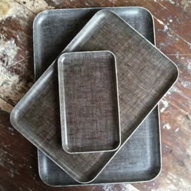 fog linen work - Image of Linen Tray: Natural