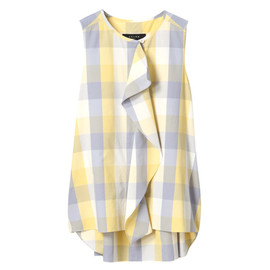 SACRA - BLOCK CHECK BLOUSE