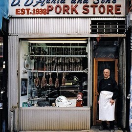 New York City - D. D'Auria and Sons Pork Store
