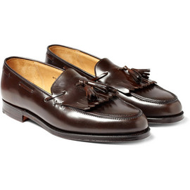 RALPH LAUREN - Leather Tassel Loafers