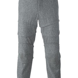 Comme Des Garçons Homme Plus - cropped tapered trousers
