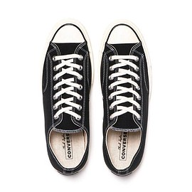 Converse - Chuck Taylor All Star Canvas 1970s Ox (Updated) Black