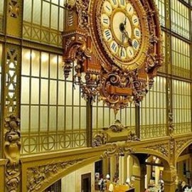 paris - Clock at the Musée D'Orsay