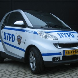 smart - NYPD Smart fortwo Patrol Car