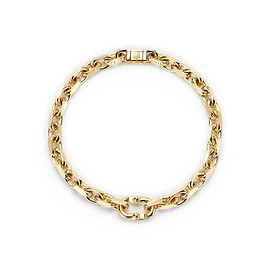 TIFFANY&Co. - Tiffany 1837® Makers narrow chain bracelet in 18k gold, medium.
