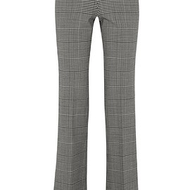 Theory - Demitria Prince of Wales checked stretch-wool flared pants