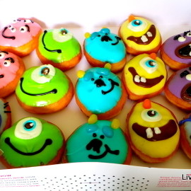 Krispy Kreme Doughnuts - Monsters University Doughnuts