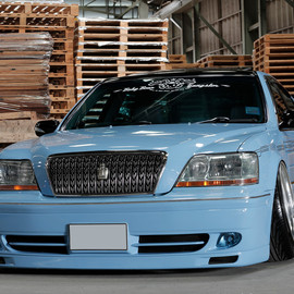 TOYOTA - Baby Blue Toyota Crown Majesta Rides Low