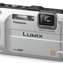 Panasonic - Panasonic Lumix DMC-TS3 12.1 MP Rugged/Waterproof Digital Camera with 4.6x Wide Angle Optical Image Stabilized Zoom and 2.7-Inch LCD (Silver)