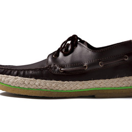 LEATHER DECK SHOES, SOPHNET. - LEATHER DECK SHOES(SOPHNET.から2013年春夏発売のユニセックス向けシューズ)