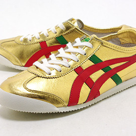 Onitsuka Tiger - MEXICO 66 : Gold/Red