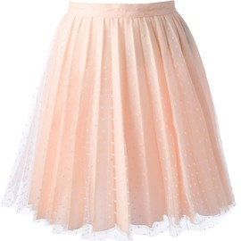 RED VALENTINO - pleated lace skirt