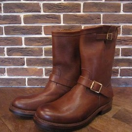"RRL - ENGINEER BOOTS""BROWN"""