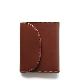 Whitehouse Cox - S1058 SMALL 3FOLD WALLET/Conker×Natural Vintage Bridle