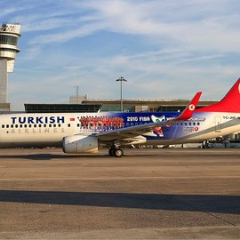 Turkish Airlines - Turkish Airlines FIBA World Championship Livery Boeing B737-800