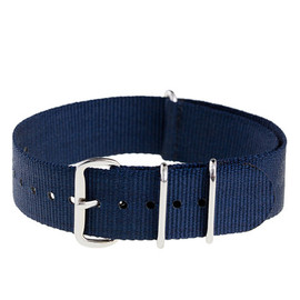 J.CREW - Solid Watch Strap Classic Navy