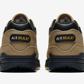 NIKE - Air Max 1 (Canvas Pack) - Elemental Gold/Mineral Yellow/Black