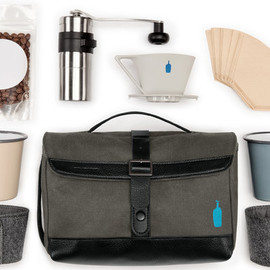 Blue Bottle Coffee - Blue Bottle Coffee's first travel kit, created in collaboration with the sporty bag company Timbuk2.