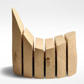 cristiano mino - reclaimed trunk chair