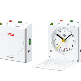 Supreme, BRAUN - Travel Alarm Clock