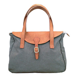 TANDEY - LEATHER FLAP TOTE