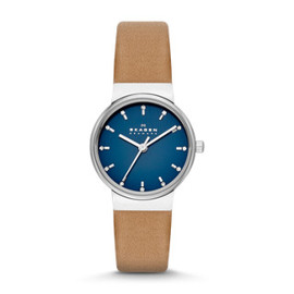 Skagen - Ancher Women's Leather Watch
