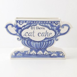 Anthropologie - Pragmatic Vase, Eat Cake