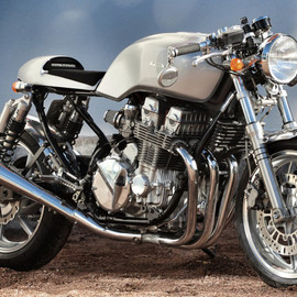 Rewheeled (Re-Cycles Bikes Rewheeled AB), Honda - CB750 Cafe Racer