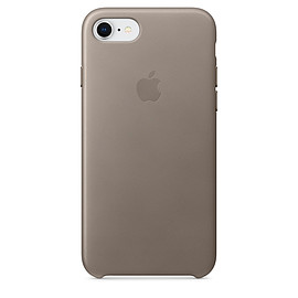 Apple - iPhone 7 Leather Case - Taupe