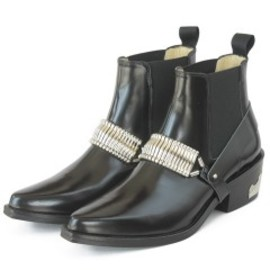 TOGA - Metal Belt Boots (black)