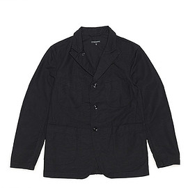 ENGINEERED GARMENTS - Bedford Jacket-Cotton Double Cloth-Black