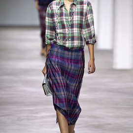 Dries Van Noten - check shirt