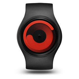 ZIIIRO - Watch - Gravity - Black Red