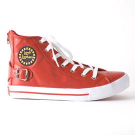 Lewis Leathers - Red Leather shoe