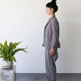 ARTS&SCIENCE - Old tailored jacket Ⅱ / Men's cropped pants~gray