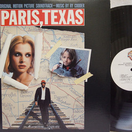 Ry Cooder - Paris, Texas O.S.T. (Record: Warner Bros. 7599-25270-1 U.S.press)