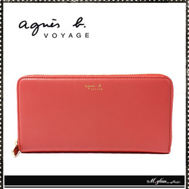 agnes b. VOYAGE - 長財布LEATHER LONG WALLET