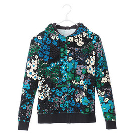 BOHEMIANS - Zip Parka Flower Velour