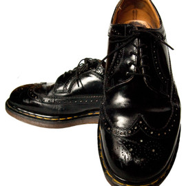 Dr.Martens - Wing Tip Shoes / Made in ENGLAND