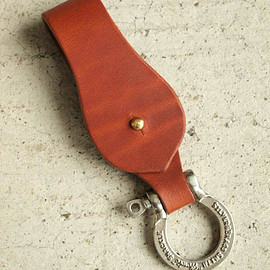 "Candy design&works - ""HERBIE"" Key Ring Instructions. Leather strap."