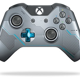 Microsoft - Xbox One Wireless Controller: Halo 5: Guardians - Limited Edition