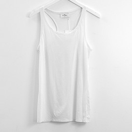 THE WH/TE BR/EFS - Aloes Singlet Light jersey Mint