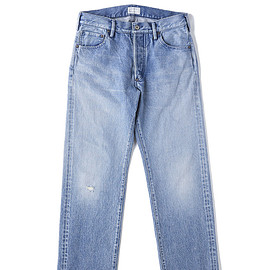 OLD JOE & CO. - WASHED TAPERED JEANS