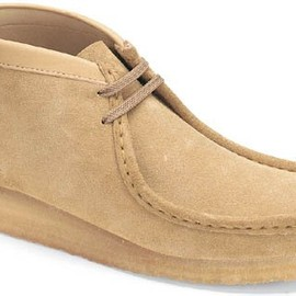 Clarks - Wallabee Boot Sand Suede