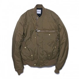 TAKAHIROMIYASHITA The SoloIst - flight jacket type Ⅰ.