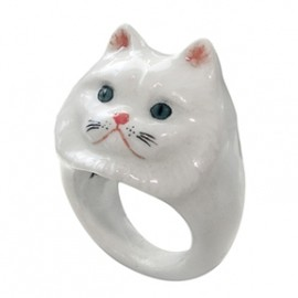 Nach Jewellery - Persian Cat Ring