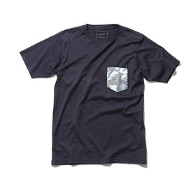 SOPHNET. - FABRIC MIX POCKET TEE