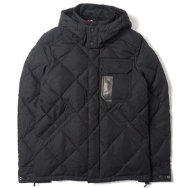 "COMME des GARÇONS JUNYA WATANABE MAN - COMME des GARÇONS JUNYA WATANABE MAN x DUVETICA ""ALETRIONE"" HOODED DOWN JACKET"
